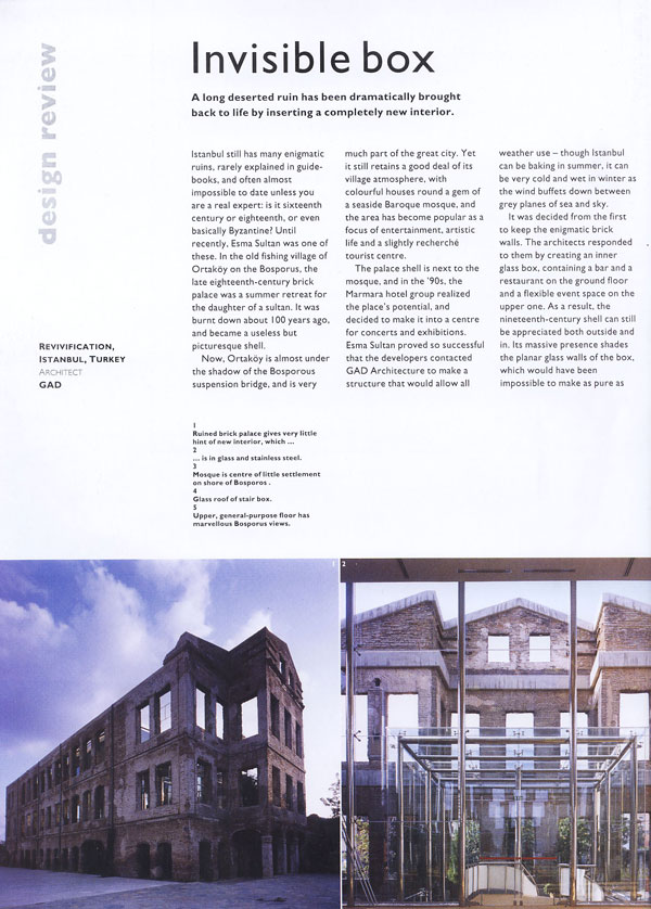 The Architectural Review _ Esma Sultan