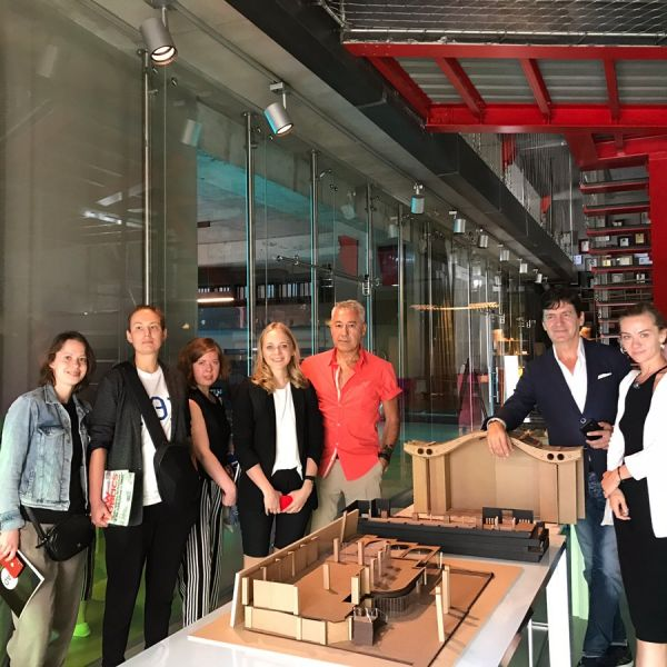 Russian Journalists visit GAD and Contemporary Istanbul