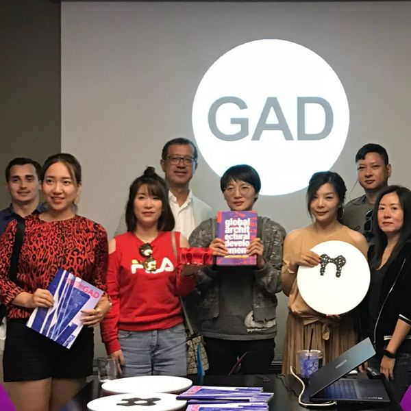 A group of architects and construction  professionals from China toured  GAD buildings in Istanbul