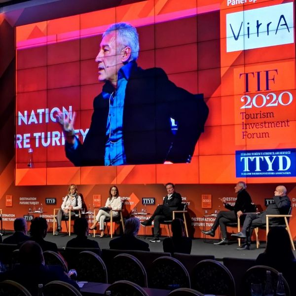 Gokhan Avcioglu speaks on Hospitality Design at Tourism Investment Forum 2020