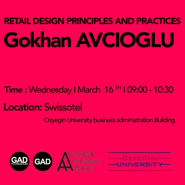 Gokhan Avcioglu Retail design principles and practices