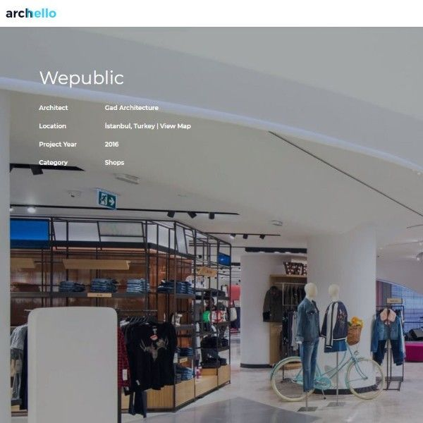 Archello Websitesi Blog: GAD architecture Wepublic Projesi