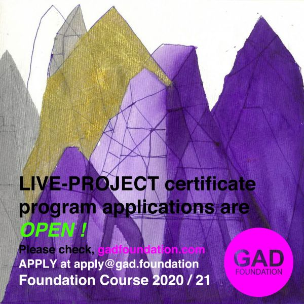Live-Project 2020-21 Certificate Program Applications are Now Open!