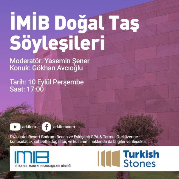 İMİB Talks Natural Stone
