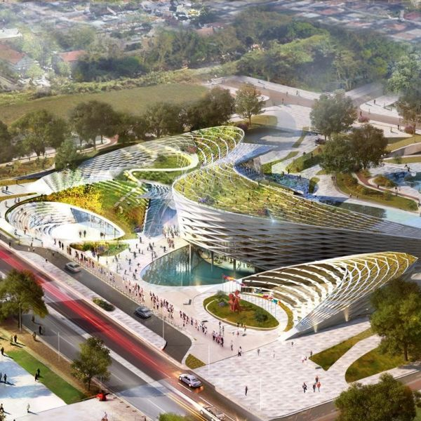 Tirana Municipality Building Competition Design Featured in ArchDaily