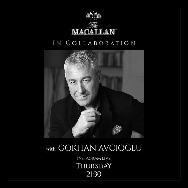 Gokhan Avcioglu Interviewed on Instagram Live Channel of Prestigious Scotch Whisky Brand