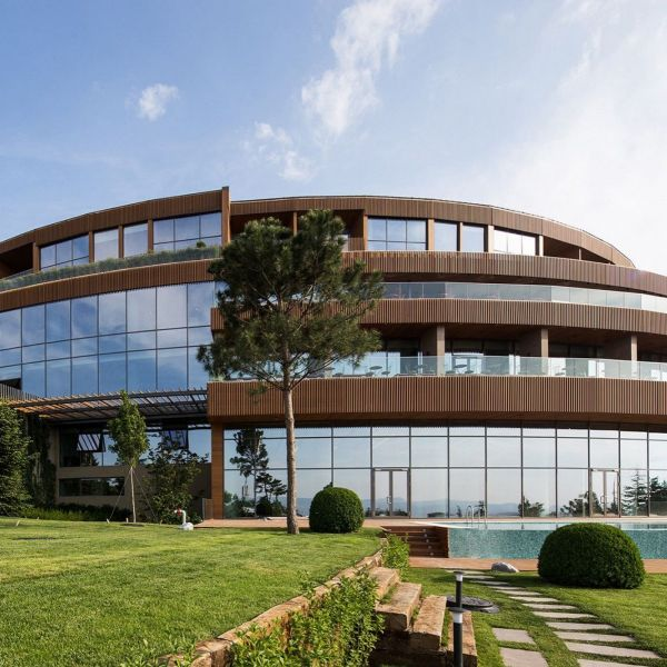 Eskisehir Hotel and Spa Featured on Arch20.com