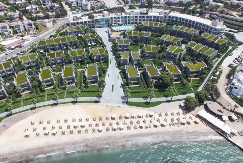 Swissotel resort bodrum beach architectural projects for Luxury hotel project