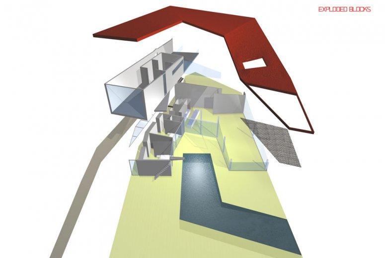 ramp house mimari projeler gad mimarl k. Black Bedroom Furniture Sets. Home Design Ideas