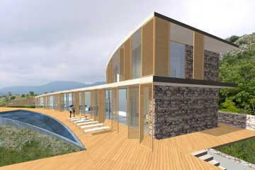 Sloped House