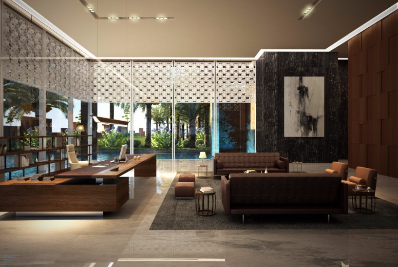 Haaz Design And Art Gallery Gad: Rydh HQ Interior Design - Architectural Projects