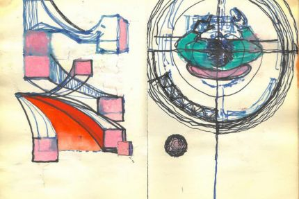 Thinking by hand sketchbook 254